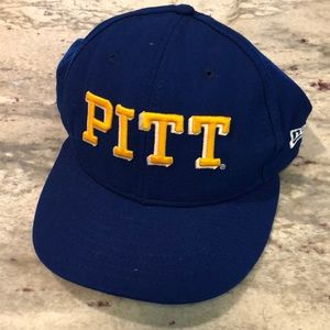 New Era 59Fifty Pitt Panthers Fitted Hat 7 1/2
